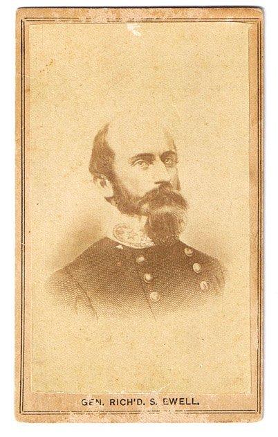 1869: Richard Ewell CDV UACC PADA