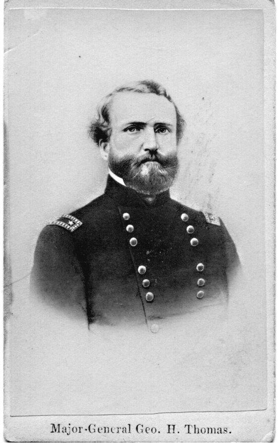 1871: George H. Thomas CDV UACC PADA