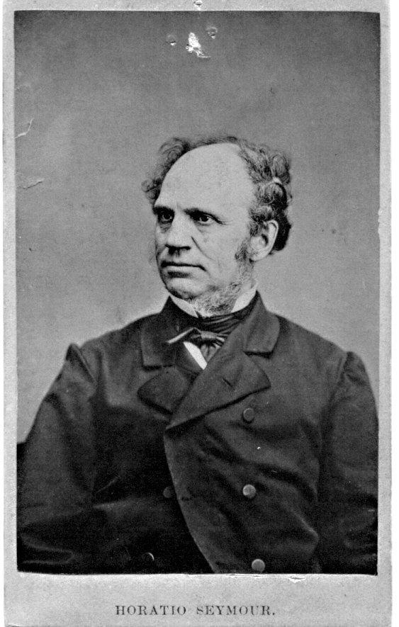 1872: Horatio Seymour CDV UACC PADA