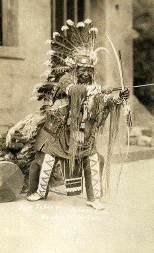 1888: Photograph Native American Original Photo UACC PA
