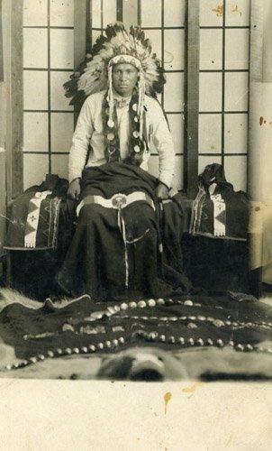 2051: Photograph Native American Original Photo UACC PA