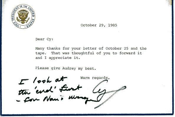 4: George Bush Autograph Letter Signed UACC PADA