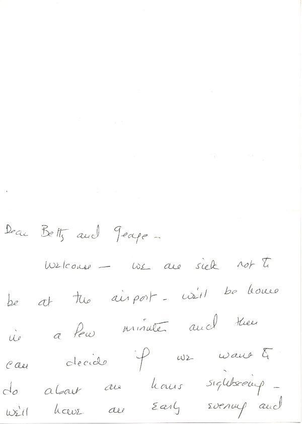 7: Barbara Bush Autograph Letter Signed UACC PADA
