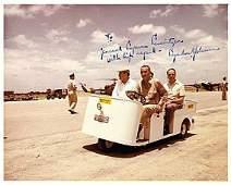 44B: Lyndon B. Johnson Inscribed Signed Photo UACC PADA