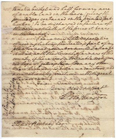 122: George Washington Autograph Letter Signed UACC PAD