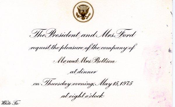 1028: Gerald Ford Presidential Memorabilia UACC PADA