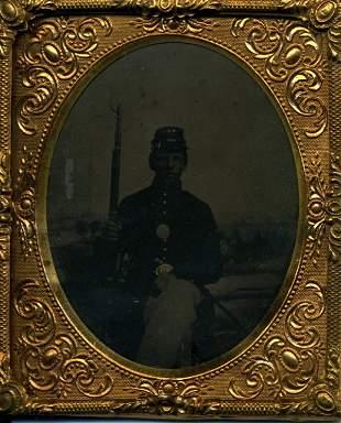 Soldier Tintype Memorabilia UACC PADA
