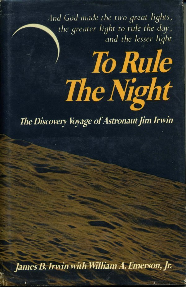 2253: Apollo James Irwin Book Signed UACC PADA