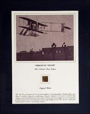 WING PIECE of WRIGHT BROTHERS PLANe Smithsonian