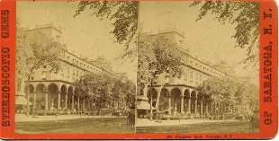 Civil War era Stereoview of Congress & Senate