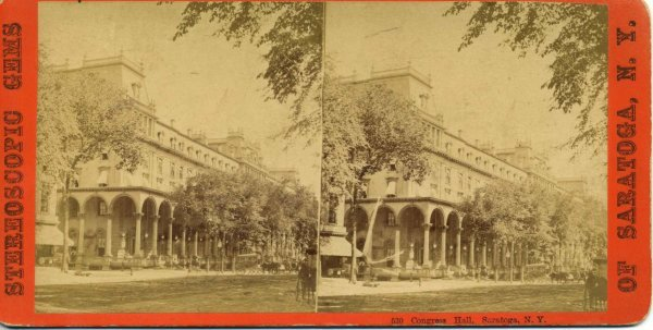 2020: Civil War era Stereoview of Congress & Senate