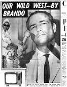 1465: 1465: Brando's Tie with Photo of him wearing it U