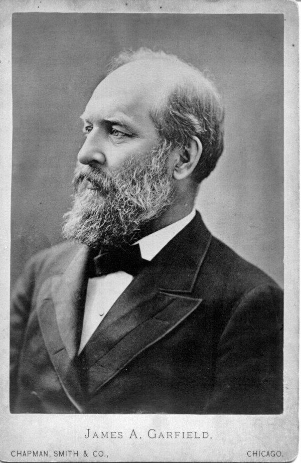 1052: James A. Garfield 19th Century Photo UACC PADA