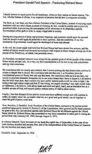Gerald Ford Typed Letter Signed UACC PADA