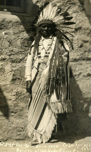 3033: Photograph Native American  UACC PADA