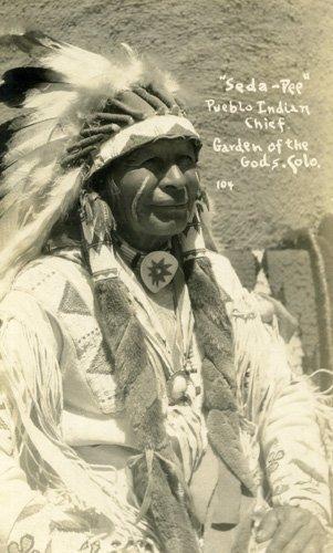 3036: Photograph Native American Original Photo UACC PA