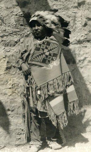 3037: Photograph Native American Original Photo UACC PA