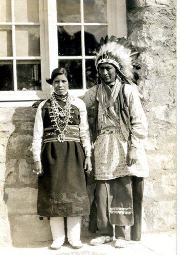 3041: Photograph Native American Original Photo UACC PA