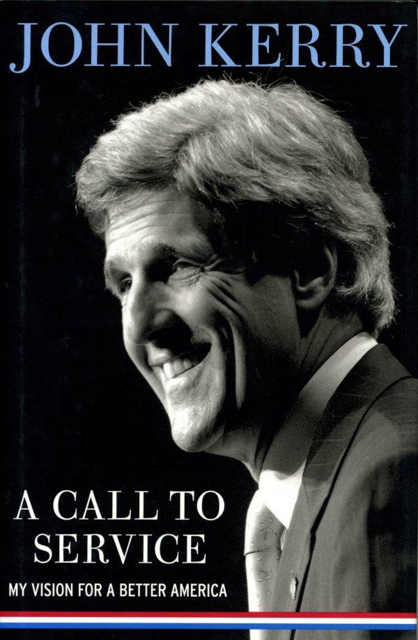 3203: John Kerry Signed Book  UACC PADA