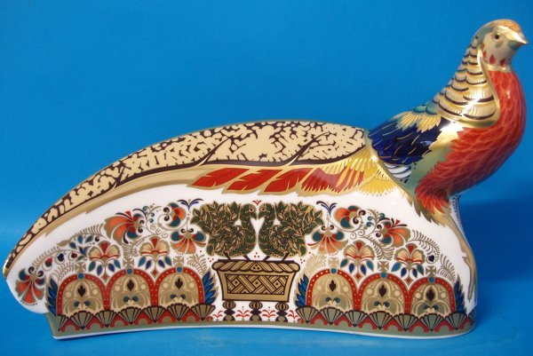 3: Royal Crown Derby Harrods Pheasant Limited Edition O