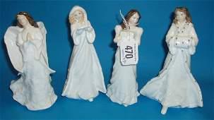 470L: A Set Of Doulton Christmas Figures , Christmas Pa