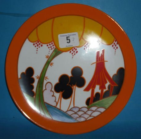 5: Wedgwood Limited Edition Clarice Cliff Bizare Plate