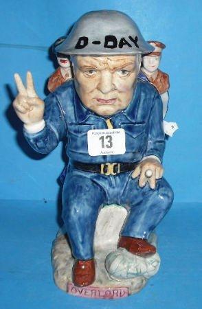 13: Large Kevin Francis  Character Jug Winston Churchil