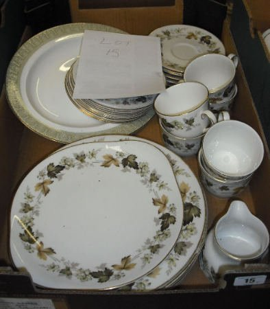 15: Royal Doulton Larchmont Part Dinner Service to incl