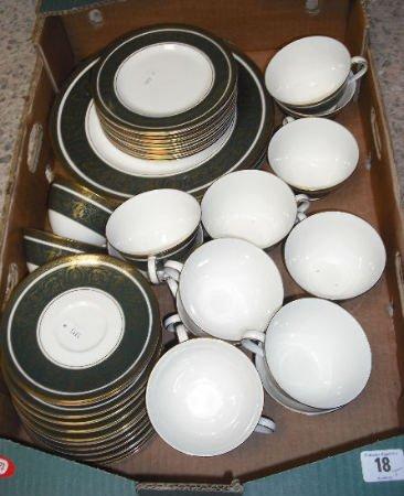 18: Royal Doulton Vanborough Dinner service comprising