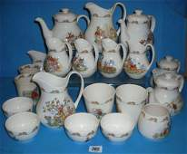 282 Collection of Royal Doulton Bunnykins Nursery ware