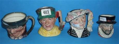 483: Royal Doulton small Character jugs The Golfer D686