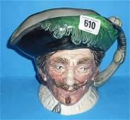 610: Royal Doulton Rare Large Character Jug The Cavalie