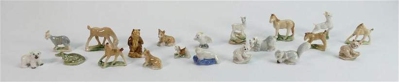 A collection of Wade 1950s Whimsies: First version