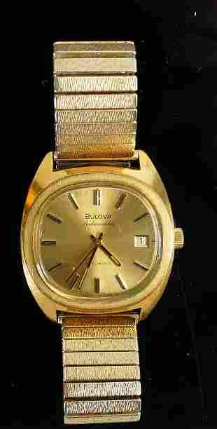 Bulova Accutron Ambassador gentleman?s: automatic date