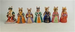 Seven Royal Doulton Bunnykins Figures: DB305 Henry