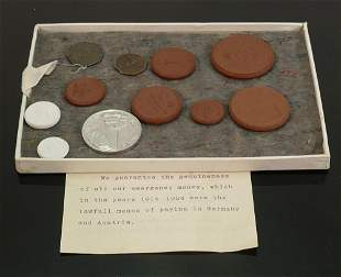 Emergency coinage used in Germany and Austria 1914 to
