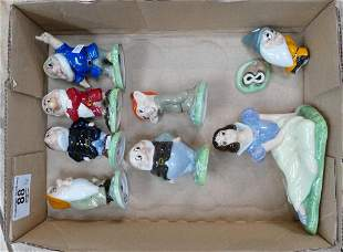 Wade set of figures Snow White and the Seven Dwarfs 2nd