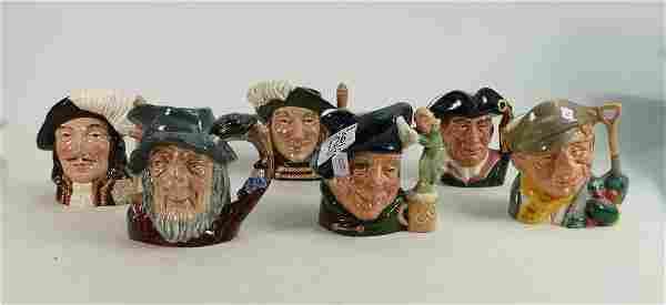 Royal Doulton Small Character Jugs: The Gardener D6634,