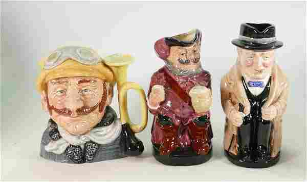 Royal Doulton Character & Toby Jugs to include: Veteran