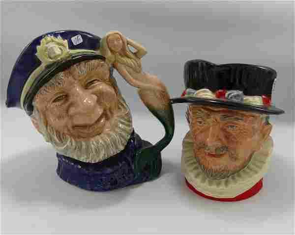 Royal Doulton Large Seconds Character Jugs: Old Salt
