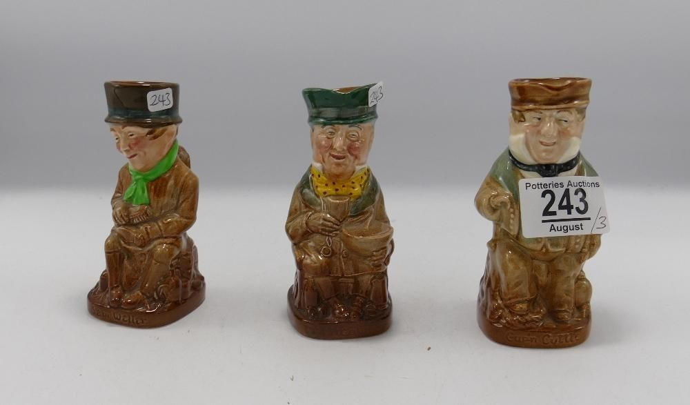 Royal Doulton Dickens toby jugs: comprising Cpt Cuttle,