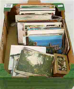 Large quantity of postcards mainly 1930s to 1970s: