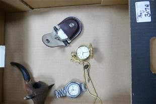 A mixed collection of items to include: Gents Lorus