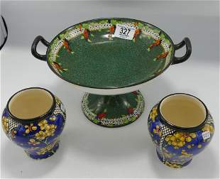 Royal Doulton Burslem Floral Decorated items to