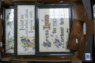 A collection of early 20th Century Framed Religious