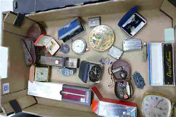 A mixed collection of items to include: Harmonica's ,