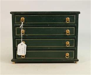 Jewel chest with 4 drawers full of jewellery: Inclides
