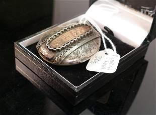Victorian Silver Locket, 30g: