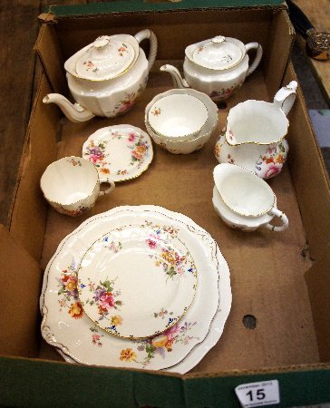 A collection of Royal Crown Derby Tea ware in Derby