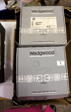 A collection of Wedgwood collectors plates, life on the
